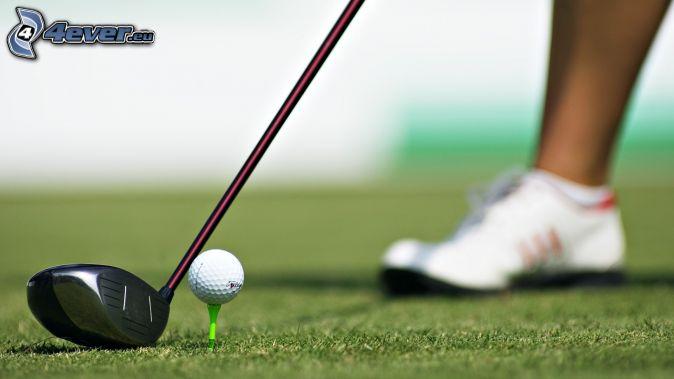 Balles de golf dans la chatte