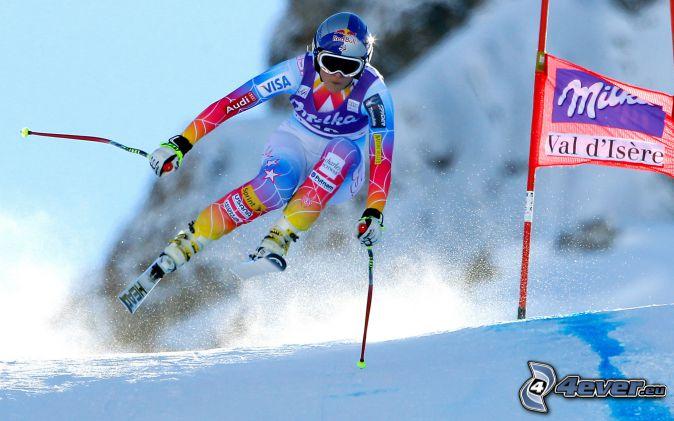 ski extrême, ski saute