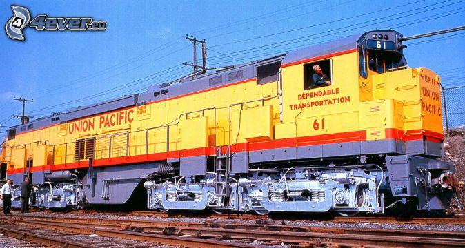 locomotive, Union Pacific