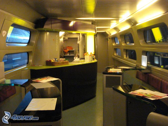 Tgv for Interieur tgv