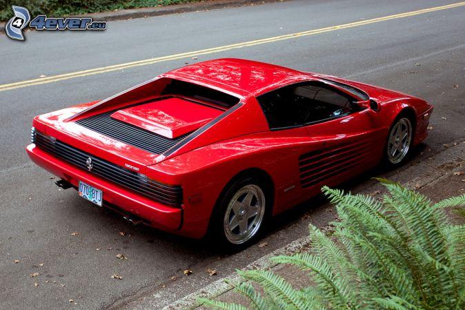 Ferrari TR, route