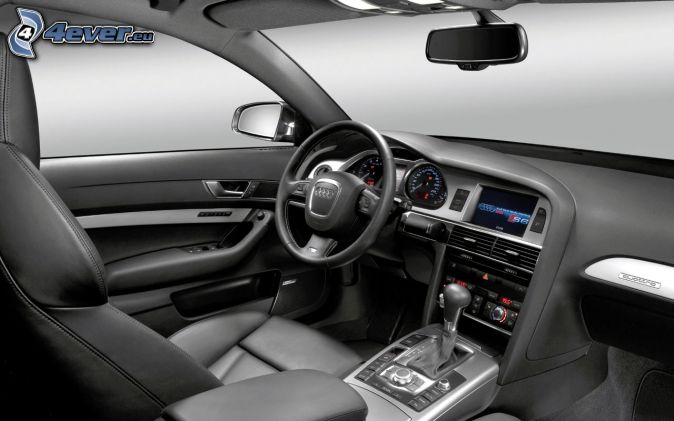 Int rieur de l 39 audi a6 for Interieur audi a6