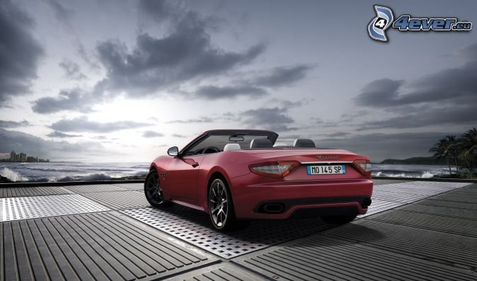 Maserati GranCabrio, cabriolet
