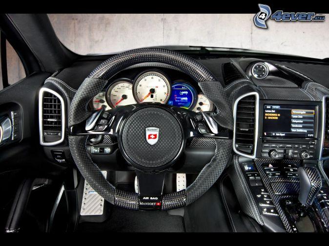 Porsche cayenne for Interieur porsche cayenne