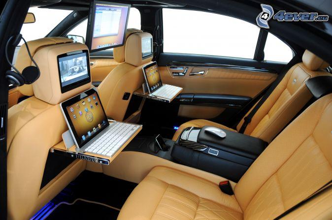 Mercedes brabus for Interieur ordinateur