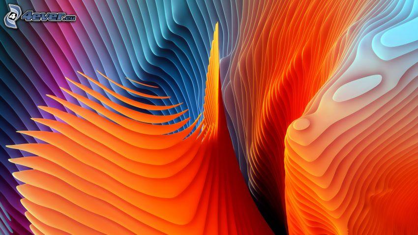 fond abstrait, couleurs