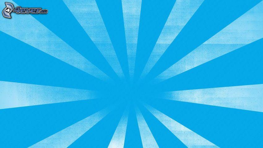 les bandes bleues, fond bleu