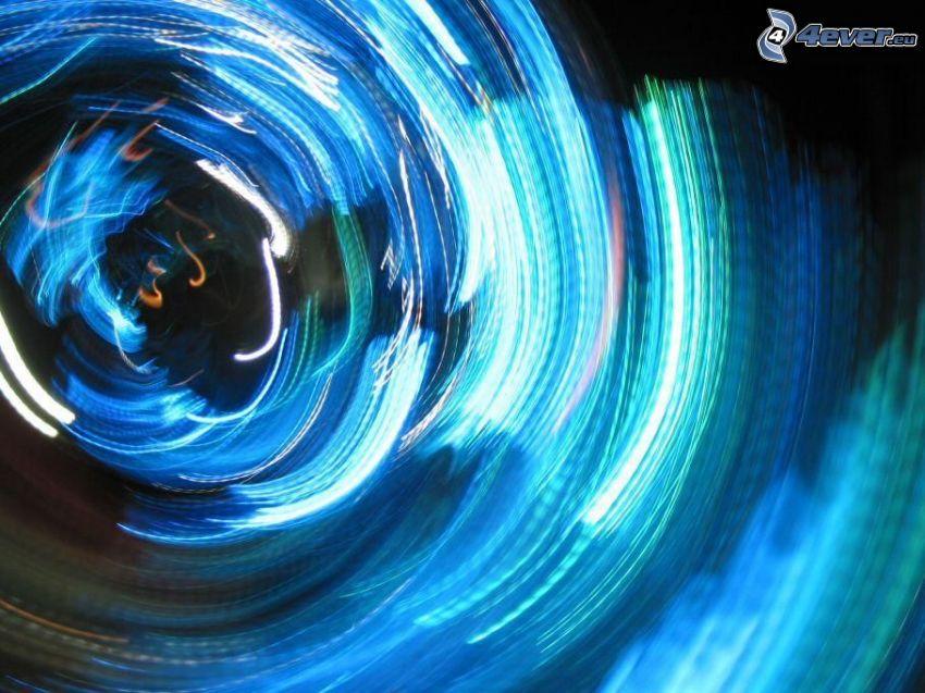 lumières, illusion d'optique