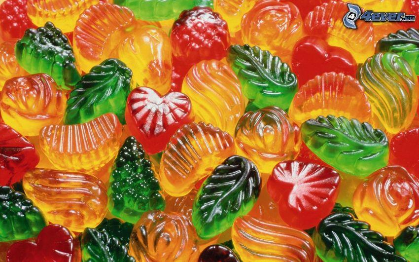 bonbons caoutchouc