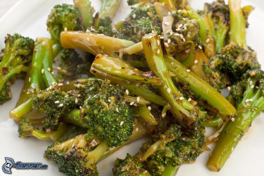 brocoli, le déjeuner