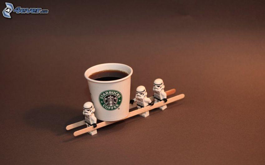 café, les pantins