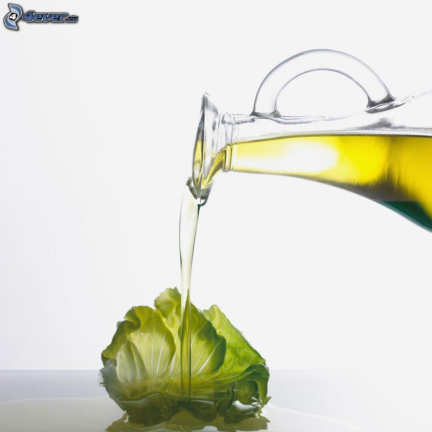 huile, salade