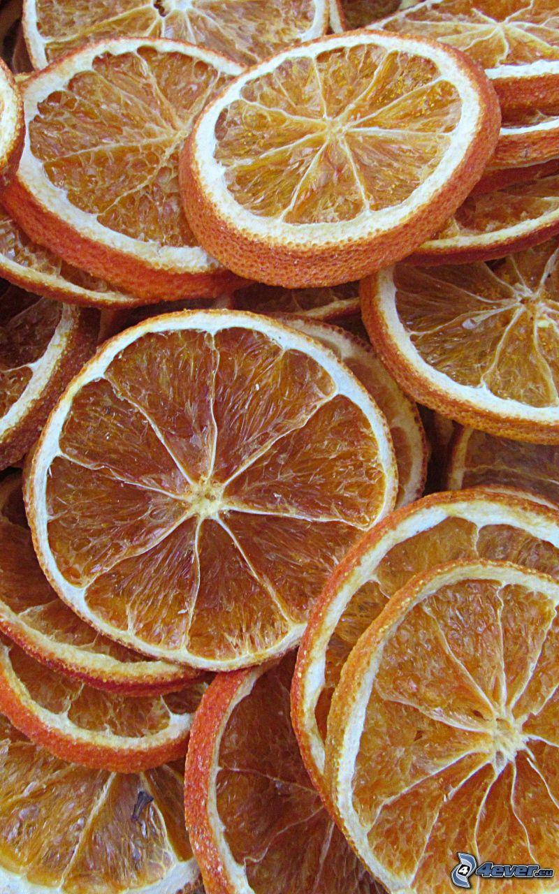 oranges séchées