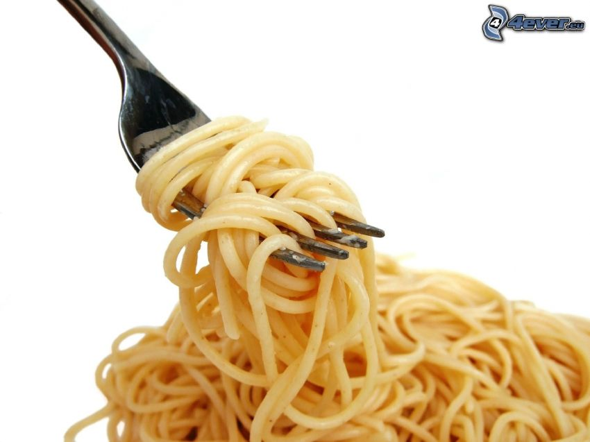 spaghetti, pâtes