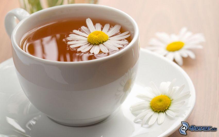 thé à la camomille