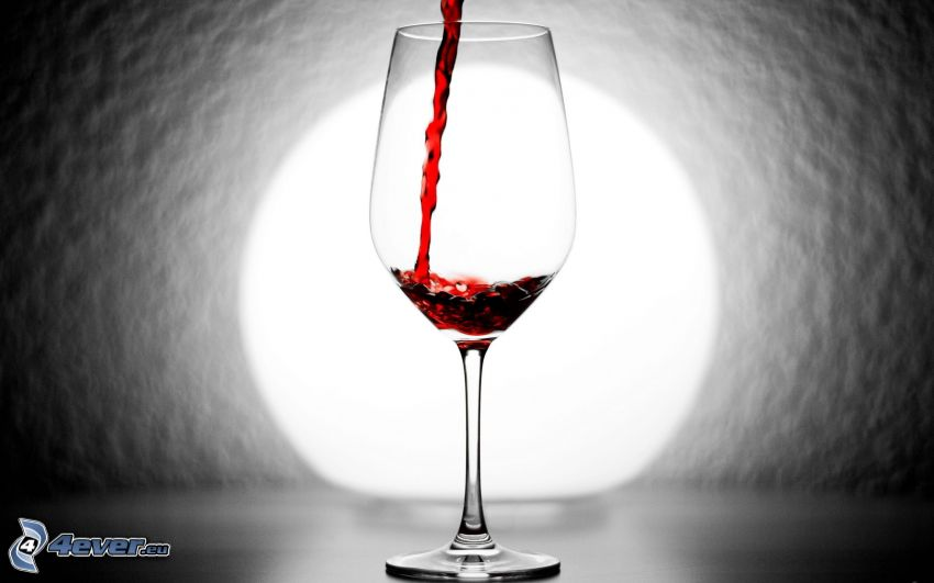 vin, tasse