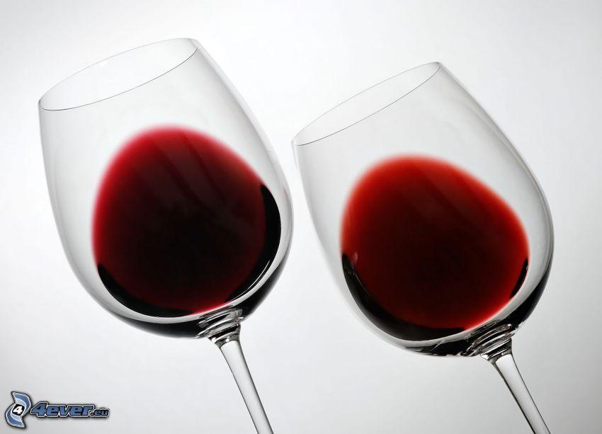 vin, verres