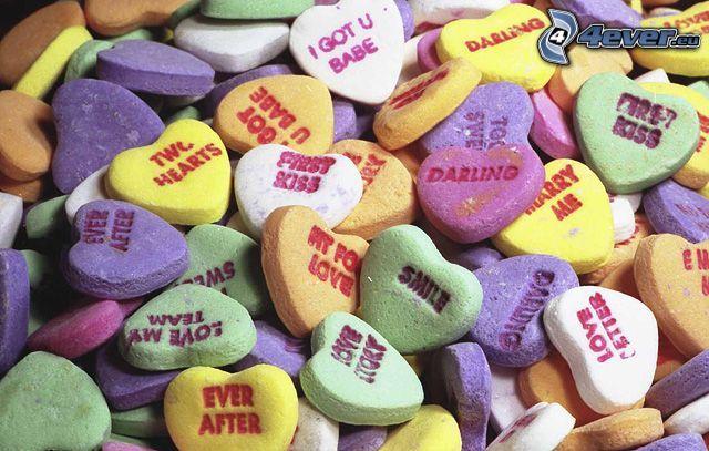 amour, pilules, cœurs