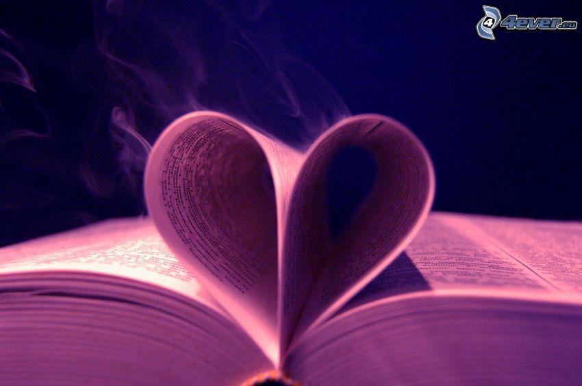 cœur, livre