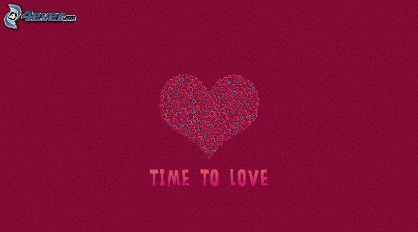 cœur, text