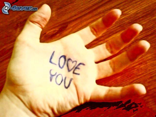 main, amour