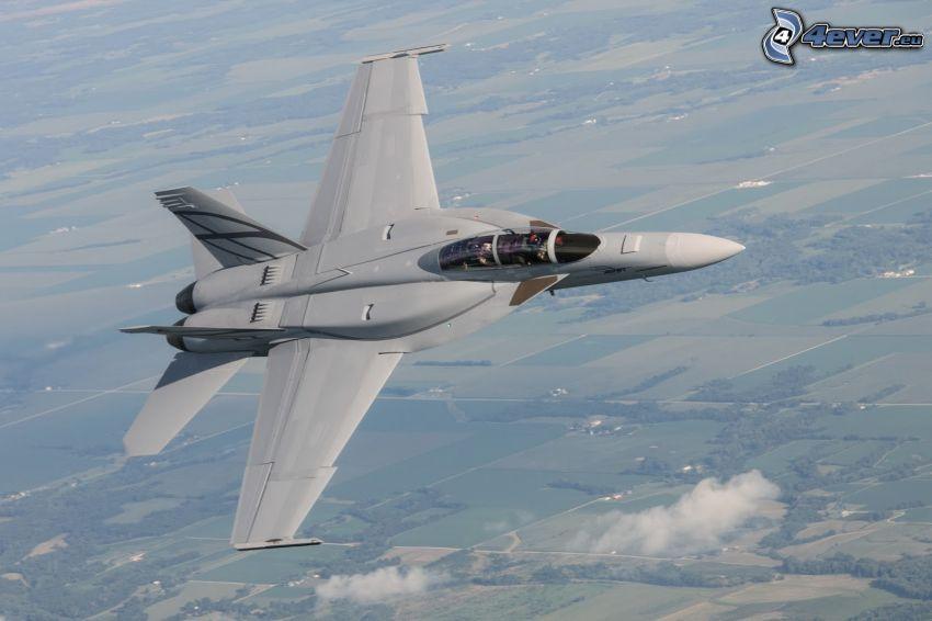 F/A-18E Super Hornet, forêts et prairies