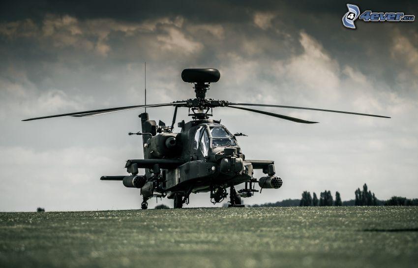 AH-64 Apache, nuages sombres