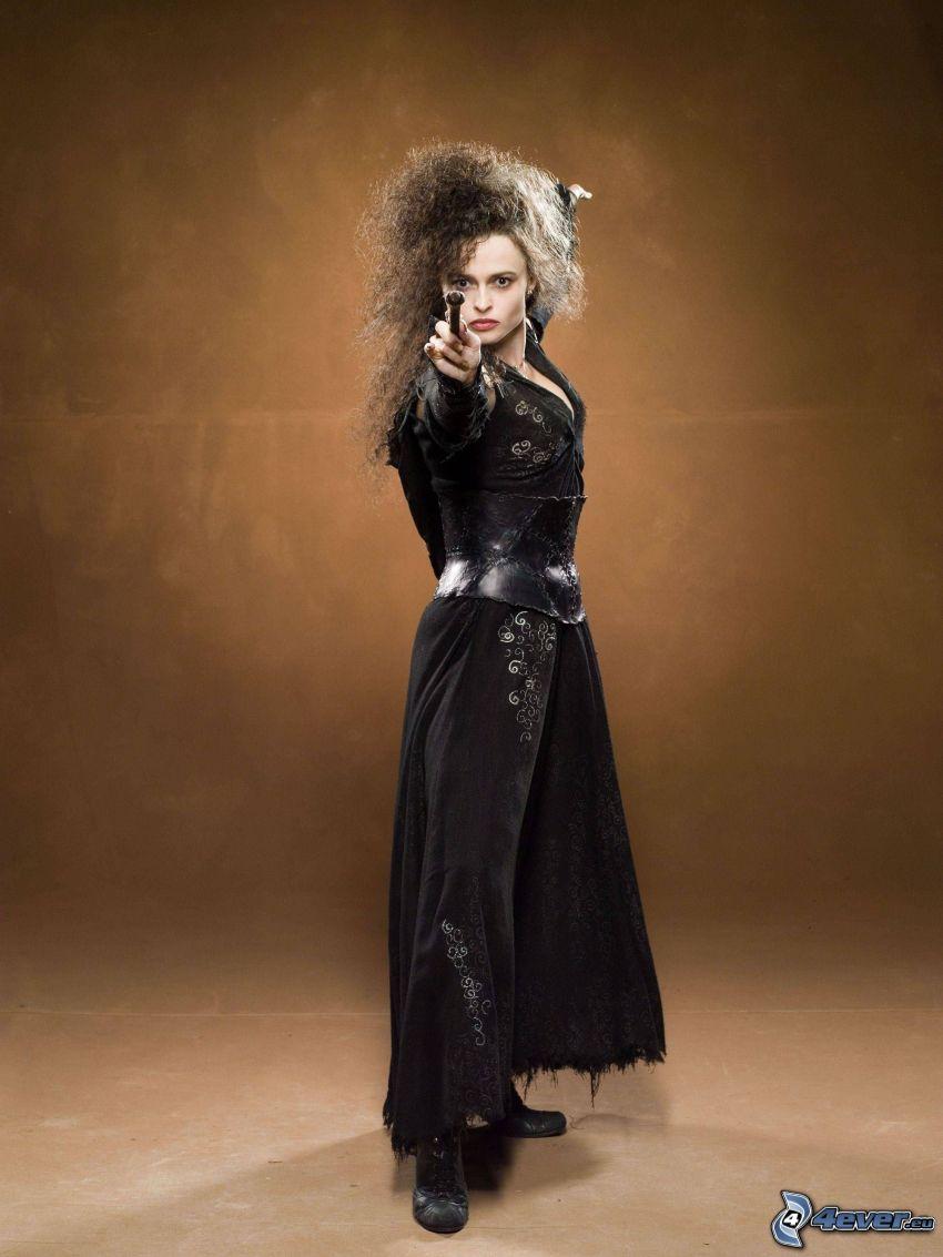 Bellatrix Lestrange, sorcière