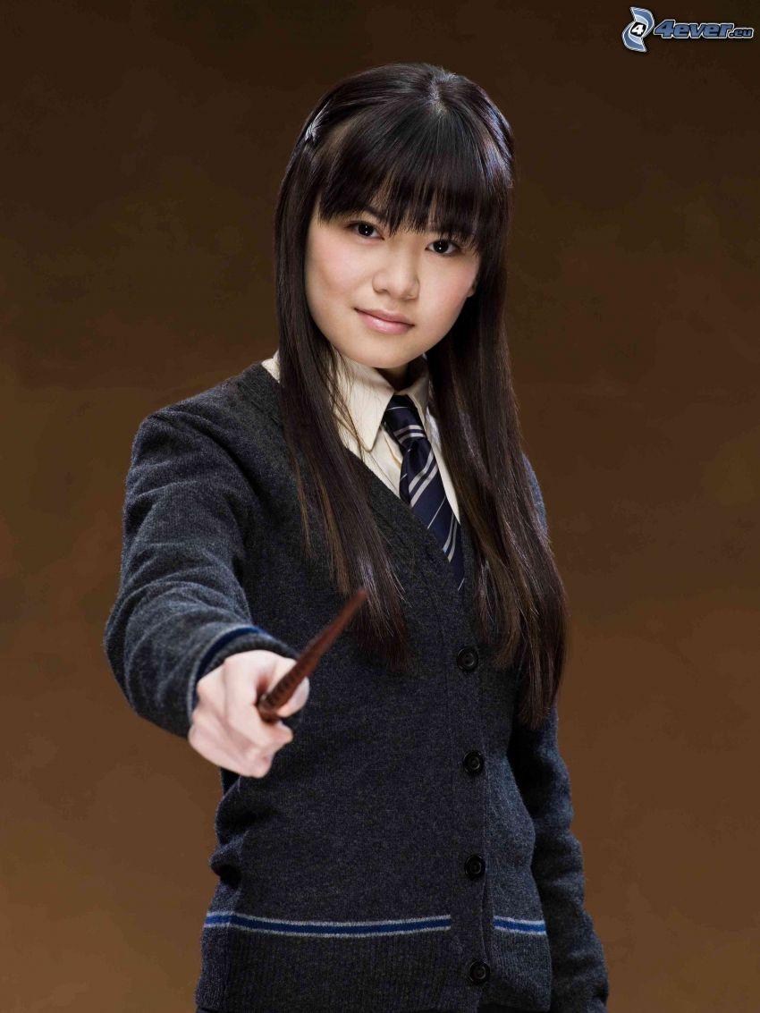Cho Chang, Harry Potter, sorcière