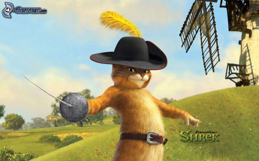 Le Chat potté, Shrek
