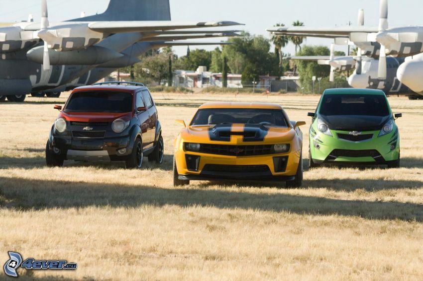Transformers 2, voiture
