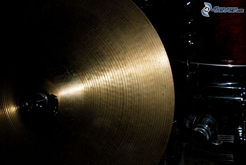 cymbale, Batterie