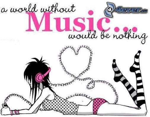 I Love Music, musique, amour, emo