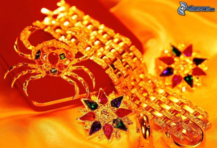 bracelet, en or