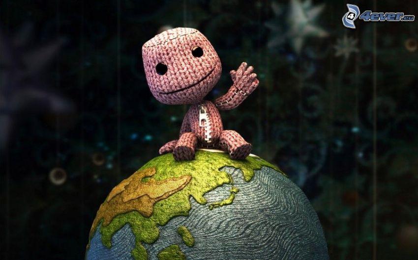 caractère, planète Terre