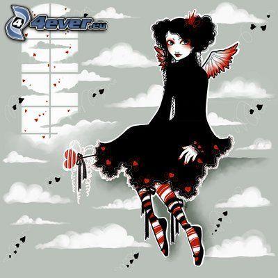 EMO ange, amour