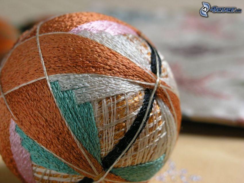pelote, laine, couleur
