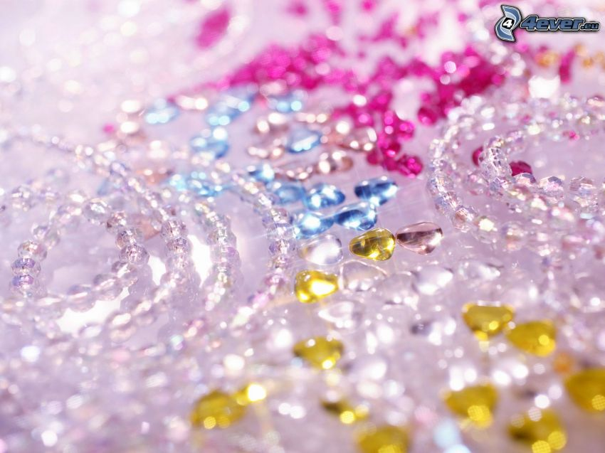 perles, brillance