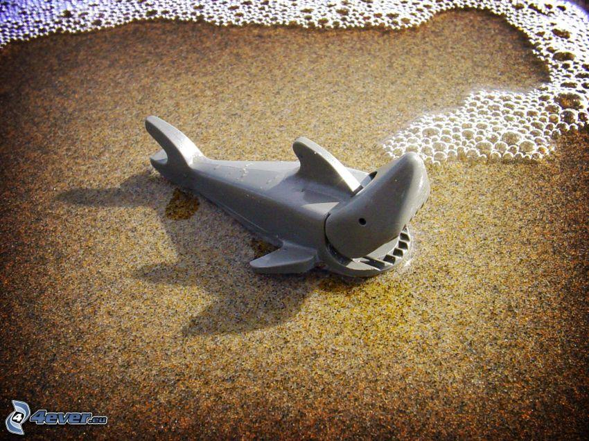 requin, Lego, bulles
