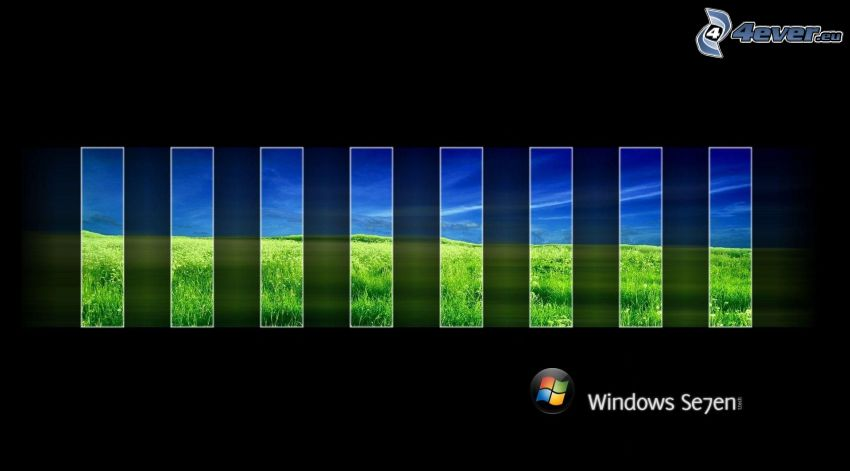 Windows 7, mosaïque