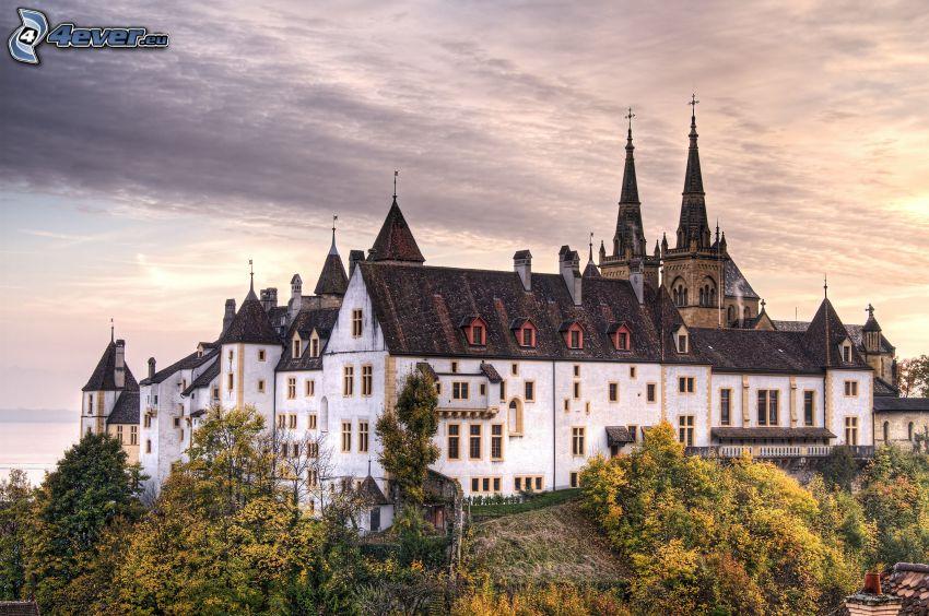 château, HDR