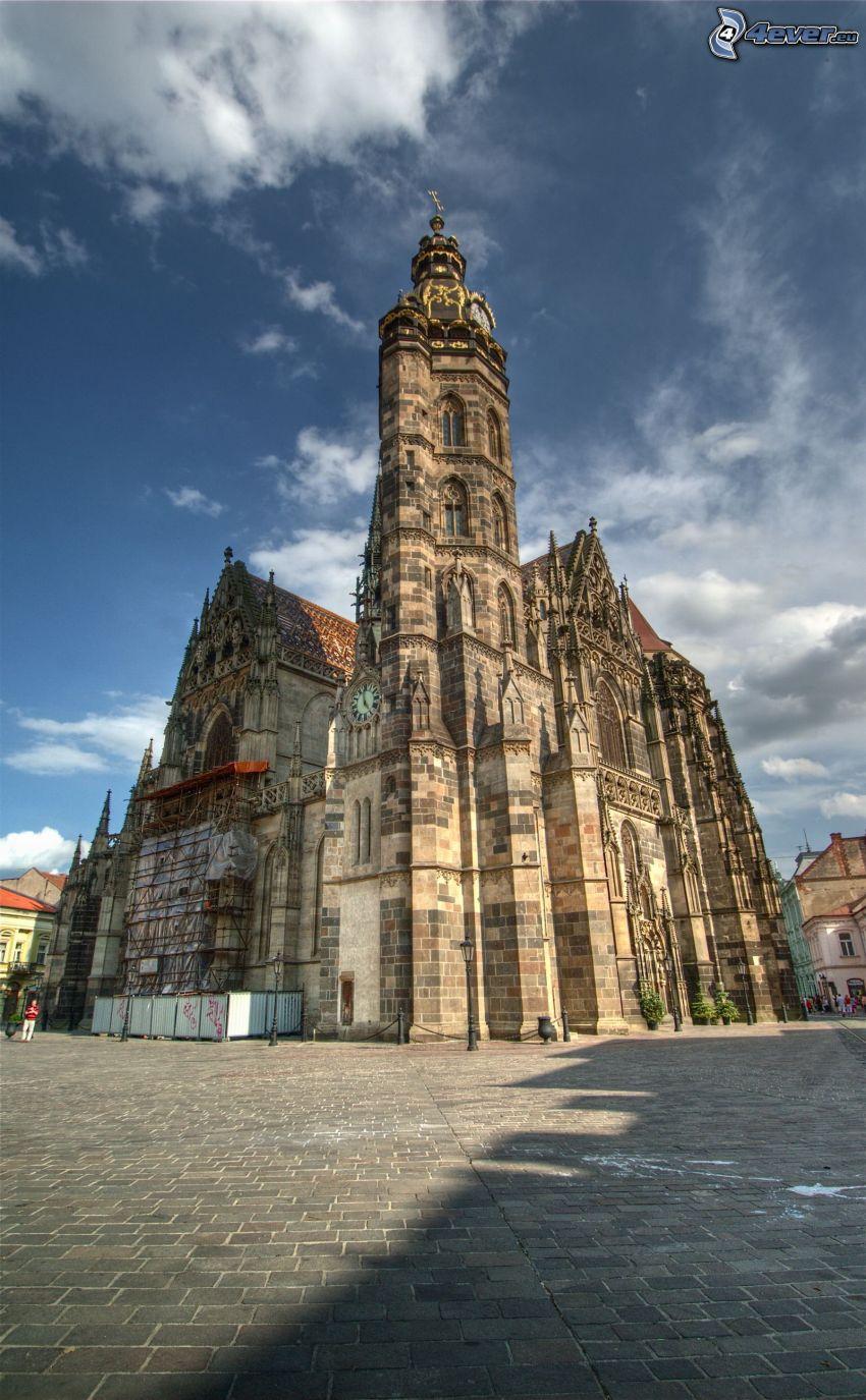 Cathédrale Sainte-Élisabeth, HDR