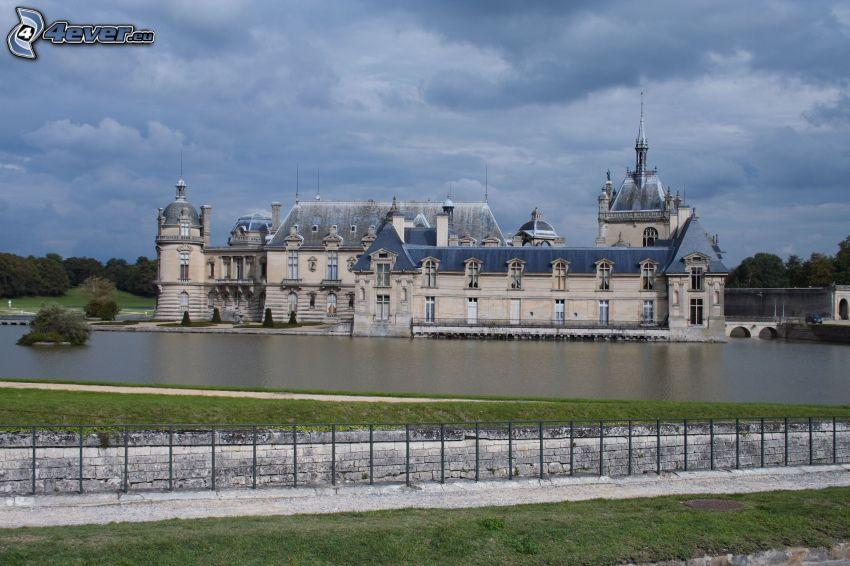 Château de Chantilly, lac