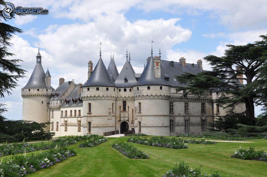 Château de Chaumont, jardin