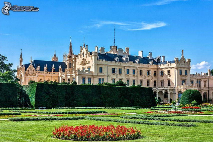 Château de Lednice, jardin