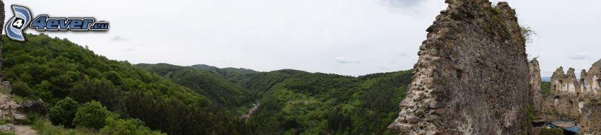 Château Šášov, montagne
