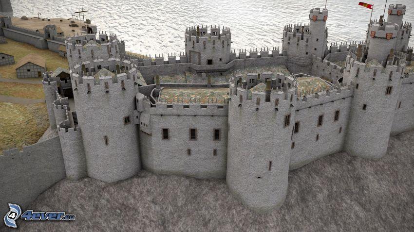 Conwy Castle, des tours