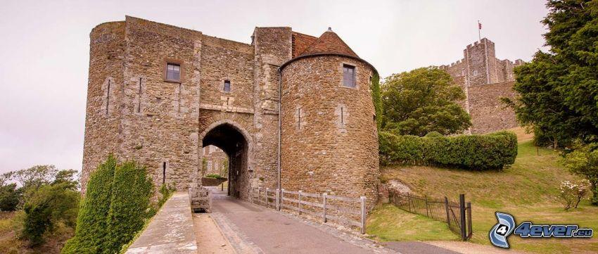 Dover Castle, portail
