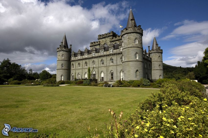 Inveraray château, parc
