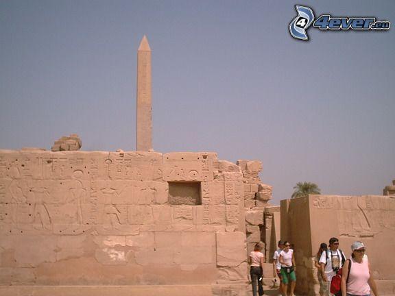Karnak, Égypte, ruines